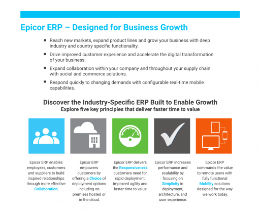 epicor designed for business growth